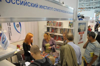 Visit to the stand of V. Schepetev, the Deputy Chief of the Presidential Domestic Policy Directorate, Presidential Administration of the Russian Federation