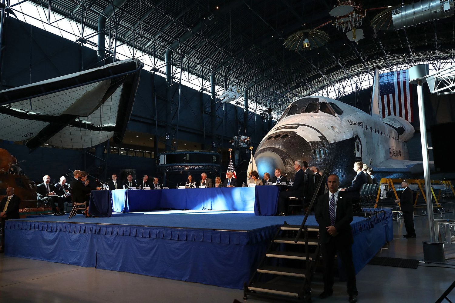 The meeting was held at the National Museum of Aeronautics and Astronautics
